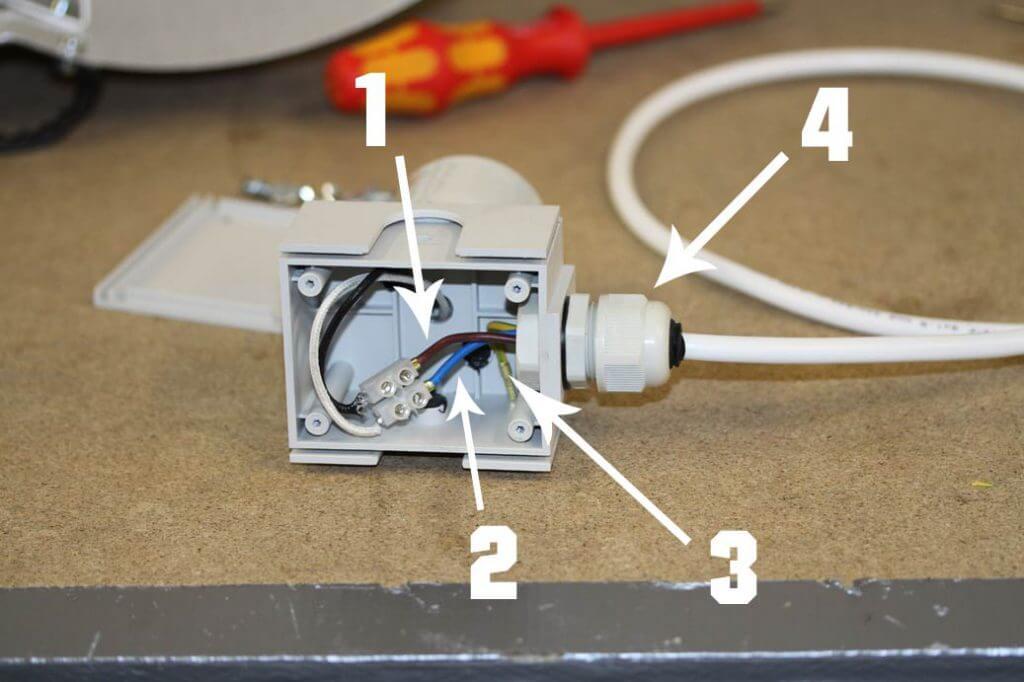 Kabelkasten Adjust-A-Wing Reflektor