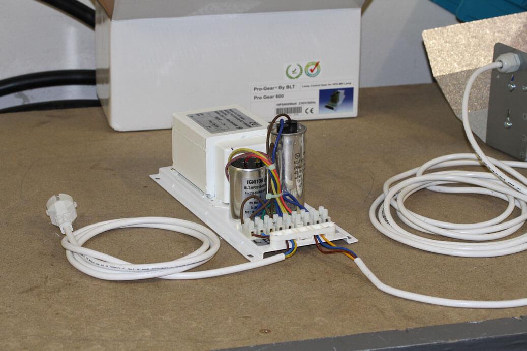 Turbo ProGear Vorschaltgerät anschließen | indooranbau BR97
