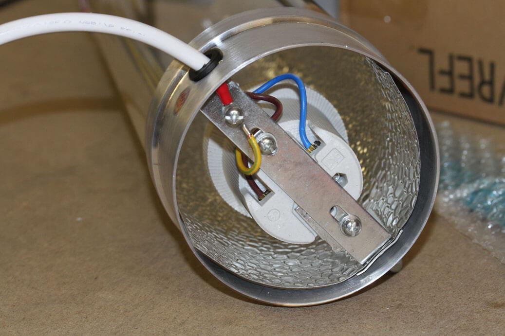 Cooltube Reflektor richtig Anschließen | indooranbau