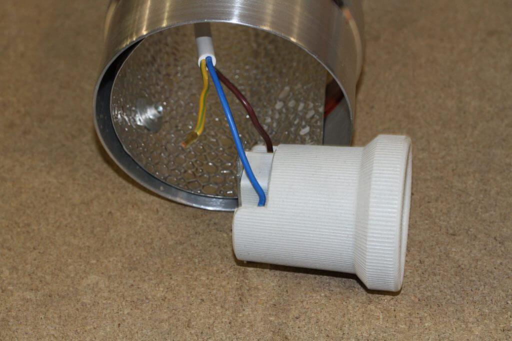 Cooltube fassung angeschlossen